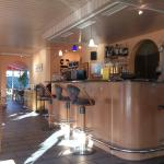 Allmendingen - Ristorante Ristretto - Innen mit Bar