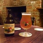 Ótima cerveja da Brasserie d'Achouffe.