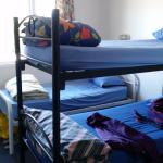 My bunk bed - I shared with one fellow traveller