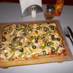 La Pizza de Camarón esta Riquisima, se las Recomiendo Mucho.