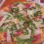 Parma & Parmesan pizza