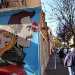 Street Art e ristoranti Pigneto