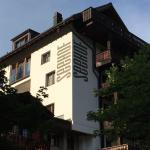 Hotel, Hotels Arosa Aussenansicht Seehof