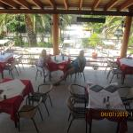 Ariston Grillhouse, great familyrestaurant and the food is very delicious, recommended.