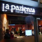 La Pazienza is one of the first restaurants on Wellingborough Rd (on left) after Abington Park a