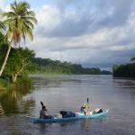 Kayak adventure on the Rio San Juan