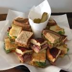 sandwich sampler platter