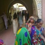 Devotees at Virpur
