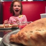 GIANT Calzones make me smile!