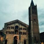 Cathedral in Parma, see Illusionististic cupola fresco of the Assumption by Antonio da Correggio