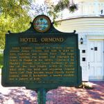 Hotel Ormond sign