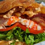 Our Signature Sandwich the Lobster BLT Sandwich