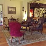 View of the Living Room, from a side breakfast nook
