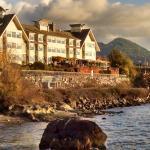 Hotel from oceanside walk