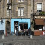 Scottish breakfast across the square from the Roch