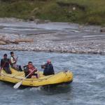 Rafting in Indus river