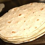 Fresh made tortillas