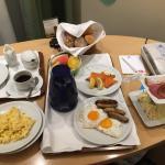 Wunderbares frühstück