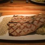 Grilled Rainbow Trout with Pommery Mustard & Garlic Mashers