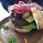 Chia burger, sooooo tasty!
