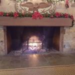 Cozy Fireplace in the Main Lobby