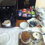 Чайный стол на завтраках