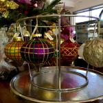 Imported decorations available to purchase - adding a touch of Delicacy to your Christmas