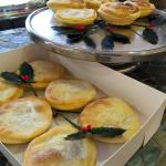 Fruit mince pies in our special pastry - Available to order for Christmas