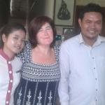 Miss Sinoun Sinoun,  Mr Savin and I