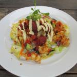 Calamari and Chorizo Salad