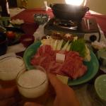 夕食 すき焼き