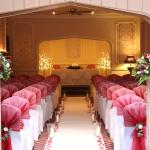 The ceremony room for our beautiful wedding - fabulous venue - amazing staff!