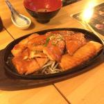 sushi -bar mono Foto