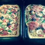 Our delicious handmade pizzas
