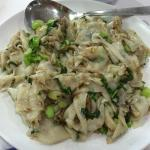 Fried Kway Teow with Chye por