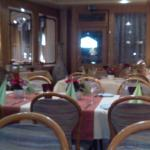 La bella sala del ristorante