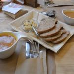 een fantastische en overheerlijke lunch