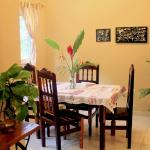 Casa Marietas 1 kitchen table.  All our places are fully furnished
