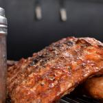 Cashew-smoked Pork Ribs