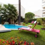 Jardin hôtel Sun Riviera Cannes