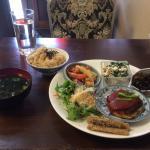 Japanese set meal (wateishoku)