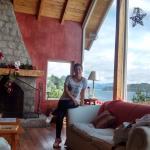 hall/living con vista panoramica
