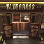Entrance to Bluegrass BBQ