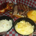 Two Meat BBQ Combo