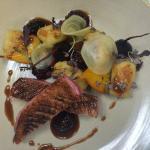 Duck Breast, Beetroot, Gnocchi, Blackberry Jus
