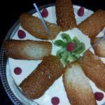 Gâteau d'anniversaire Bavarois chocolat blanc