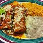 Pork Tamales, Beans and Rice