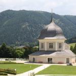 Der Klostergarten in direkter Umgebung des Hotels