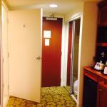 Whirlpool suite - view of entrance and bathroom door