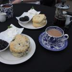 Afternoon tea with Blackcurrant Jam from Greaves of Niagara-on-the-Lake